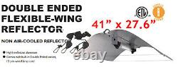1000W Double End Hydroponic Indoor Growth Kit Ballast Adjust Wing Reflector HPS