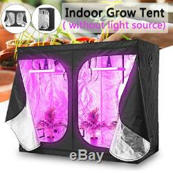 1000W LED Grow Light Hydroponic Veg Flower Plant + Indoor Hydro Grow Tent Kit