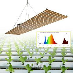 100W 500W Full Spectrum Dimmable LED Grow Light Lamp For Hydroponic Greenhouse