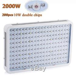 1200W 2000W LED Grow Light Panel Lamp for Hydroponic Plant Growing Full Spectrum