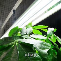 2-Pack T5 Fluorescent Grow Light Stand Rack Set for Seed Starting Plant Growing