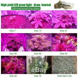 3000W CREE 6x COB LED Grow Light for Indoor Hydroponics Commercial Cultivation