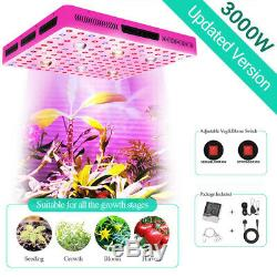 3000W CREE 6x COB LED Grow Lights for Indoor Hydroponics Commercial Cultivation