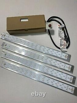 3 or 4 Bud Booster 660/730nm(IR) Sun Strip withHeatsink + Dimmable Meanwell Driver