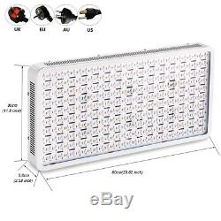 4PCS 3000W LED Grow Light Panel Full Spectrum Lamp for Hydroponics Indoor Plants