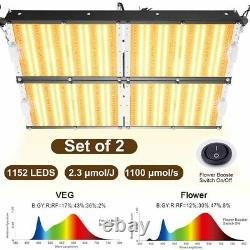 Carambola 6000W LED Grow Light for All Indoor Plants Full Spectrum 1152pcs Leds