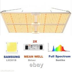 Chainable SF4000 Full Spectrum LED Grow Light Best Value on Ebay replaces 600w