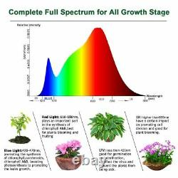 Complete 600w Led Grow Tent Kit Set Up + ALL SIZES indoors hydroponics Light