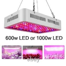 Complete Grow Tent Kit 600w or 1000w Led Grow Light indoors hydroponics SET UP