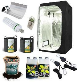 Complete Grow Tent Kit Grow Light Indoor Hydroponics set up system small 80 160
