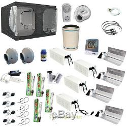 Dr300 Grow Tent Kit 3m 4x600w Lights, 2xfans, With Free Extras