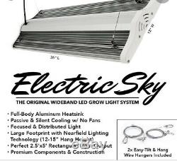 Full spectrum led grow lights Electric Sky From The Green Sunshine Company