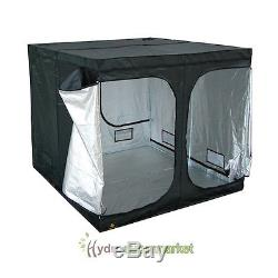 GROW TENT KIT 2.4x2.4x2m, 4X600W LIGHTS, 2XFANS, FILTER