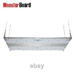 Geek Light Monsterboard 480W Dimmable, UV & IR Switches HLG Driver Official UK