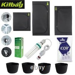 Grow Tent Kit Complete Hydroponic Small Canna CFL Light Propagation All Sizes