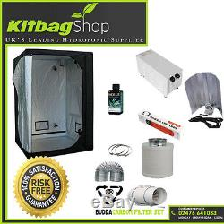 Grow tent 120 & Grow Light 600w & Extractor 5 Fan Kit Feed complete set up kit