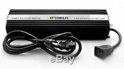 IPower 1000W HPS Digital Dimmable Grow Light System Kits Wing Reflector & Timer