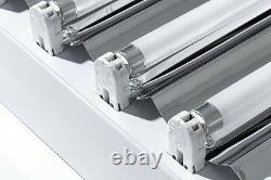 IPower 4 Ft 8 Lamps T5 Ho Tube Fluorescent Grow Light Hydroponic Fixture 2-Pack