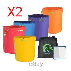 IPower 5-Gallon 5-Bag Herbal Ice Extracts Bubble Kit (2-pack)