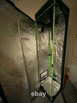 Indoor LED Full Spectrum Small Grow Tent Kit Bundle For Beginners