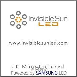 Invisible Sun LED ISH100 BR Horticultural lighting system powered by