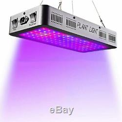 LED Grow Lights 600W Full Spectrum With VEG And BLOOM Switch
