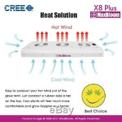 LED grow light full spectrum for indoor plants veg and flower CREE dimmable