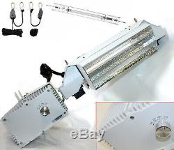 Lot Two 1000W Double End Open Phantom Style Reflector MH HPS Grow Light System