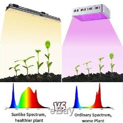 Mars Hydro SP 150 LED Grow Light Full Spectrum Hydroponics for Indoor Plants HPS