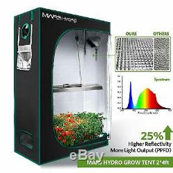 Mars Hydro TSL 2000W LED Grow Light Full Spectrum Hydroponics for Veg Flower IR
