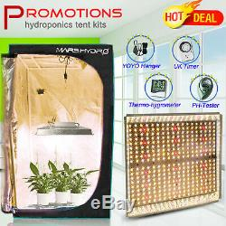 Mars Hydro TS 1000W 2000W LED Grow Lights Hydroponics kit Veg Bloom Indoor Plant