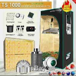 Mars Hydro TS 1000W LED Grow Light+Carbon Filter+2'x2' Grow Tent Complete Kit