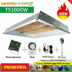 Mars Hydro TS 1000W LED Grow Light for Indoor Plants Veg Flower Replace HPS HID