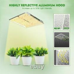 Mars Hydro TS 1000W LED Grow Lights Dimmable Full Spectrum for Indoor Plant HPS