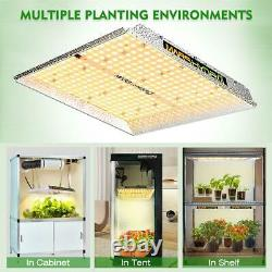 Mars Hydro TS 1000 LED Grow Light for Indoor Plants Hydroponics Replace HPS HID