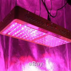 Mars Reflector 480W LED Grow Light Full Spectrum Panel with Veg Bloom Switches