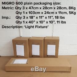 Migro 600 Led Hydroponics Grow Light 5f X 5ft Replace Your 1000w Hps Less Heat