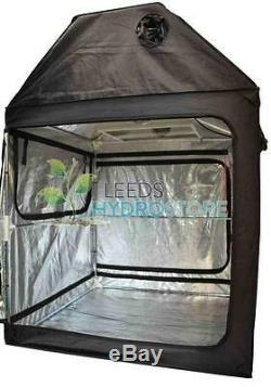 Premium Loft Attic Grow Tent 600D Mylar Indoor Roof Cube 120 x 120 x 180