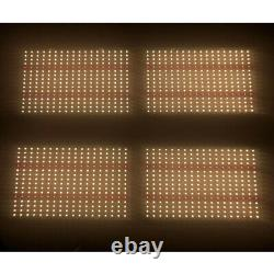 Quantum Grow Light 550V2 Samsung lm301b 3000k + 660nm with Meanwell HLG 480 driver