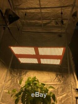 RED Quantum Light 550, withMeanwell HLG-480H driver, w SAMSUNG lm301b, Grow Light