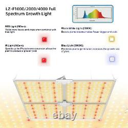 SF-4000W Dimmable LED Grow Light for Indoor Plants Full Spectrum Plant Growing