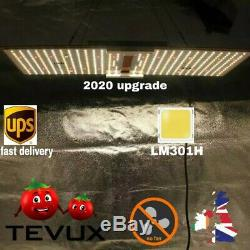 Sf 2000 TEVUX Quantum Board Led Grow Light SAMSUNG LM301H diodes real 214 watts