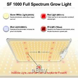 Spider Farmer 1000W LED Grow Light+70x70cm Grow Tent Kits Carbon Filter Outfit