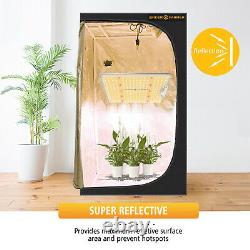Spider Farmer 4000W LED Grow Light+120x120CM Indoor Grow Tent All Stages Plants