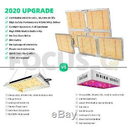 UK 1000With2000With4000W LED Grow Light with Samsung Chips Full Spectrum Veg Dimmable