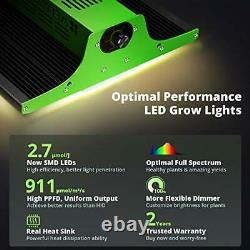 VIPARSPECTRA 2020 Pro Series P600 LED Grow Light, with Upgraded SMD LEDs, Full