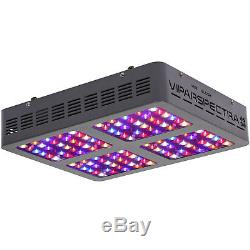 VIPARSPECTRA 600W LED Grow Light 12 Band Full Spectrum with VEG BLOOM Switches