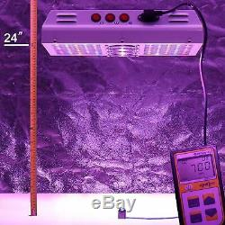 VIPARSPECTRA PAR600 600W 12-Band LED Grow Light Full Spectrum with Rope Hangers