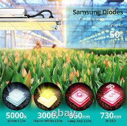 VIPARSPECTRA XS1500 LED Grow Lights for Indoor Plants Veg Flower Replace HPS HID