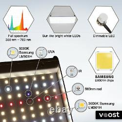 Voost 2000W Samsung LM301H Full Spectrum LED Grow Light Replace 600W HID